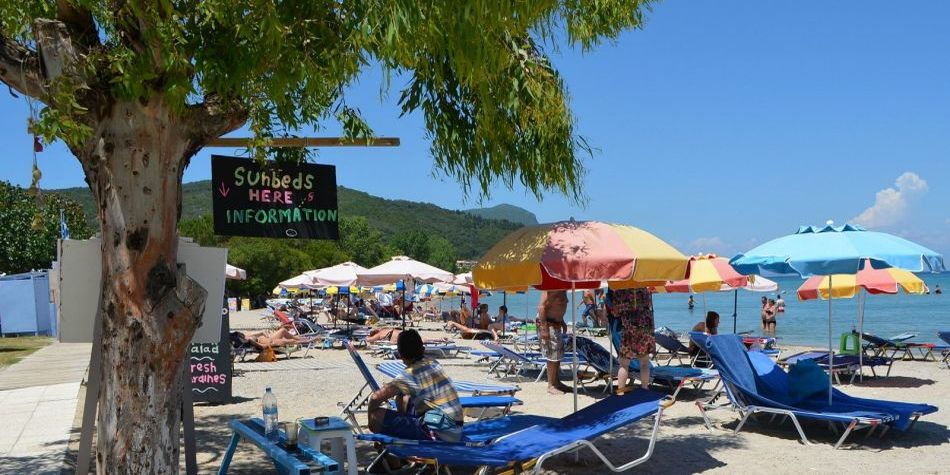 Seahorse Bay Beach Villa, Halikouna, south-west Corfu
